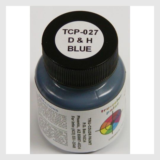 1591395385367 - Tru-Color Paint Tcp-027 Delaware & Hudson Blue 1Oz - Rj's Trains