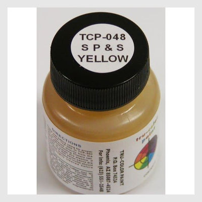 1591577149463 - Tru-Color Paint Tcp-048 Spokane Portland & Seattle Yellow 1Oz - Rj's Trains