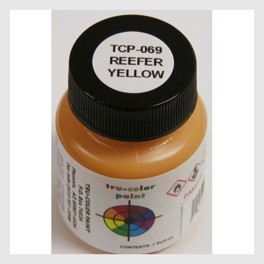 1593343148055 - Tru-Color Paint Tcp-069 Reefer Yellow 1Oz - Rj's Trains