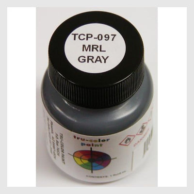 3399641890839 - Tru-Color Paint Tcp-097 Montana Rail Link Gray 1Oz - Rj's Trains