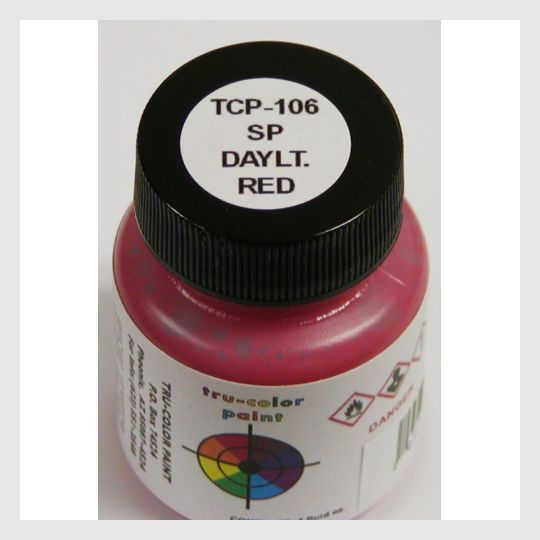 3399647068183 - Tru-Color Paint Tcp-106 Southern Pacific Daylight Red 1Oz - Rj's Trains