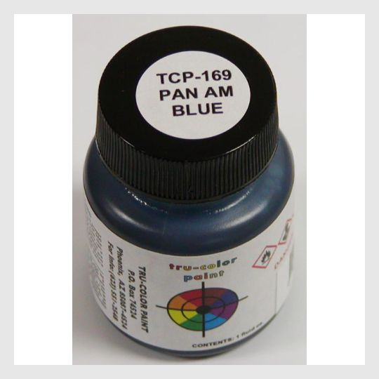 3479883874327 - Tru-Color Paint Tcp-169 Pan Am Blue 1Oz - Rj's Trains