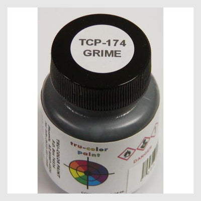 3479889215511 - Tru-Color Paint Tcp-174 Grime, (Flat) 1Oz - Rj's Trains