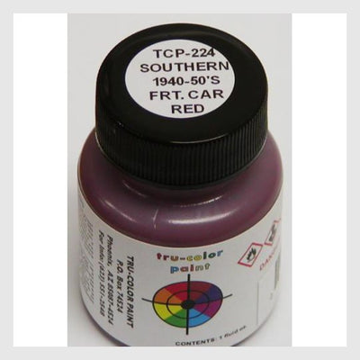 3481824788503 - Tru-Color Paint Tcp-224 Sou '38-'50 Freight Car Red 1Oz - Rj's Trains