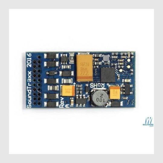 "462994112535 - Soundtraxx Tsunami2 885009 (Tsu-21Pnem) Digital Sound & Control Decoder With 21-Pin Connector, Tsunami2, Emd Diesel Sounds 1-3/16 X 5/8 X 1/4"" - Rj's Trains"