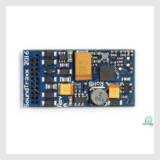 "1415428636695 - Soundtraxx Tsunami2 885012 (Tsu-21Pnem) Digital Sound & Control Decoder With 21-Pin Connector, Tsunami2, Baldwin & Other Diesel Models 1-3/16 X 5/8 X 1/4"" - Rj's Trains"