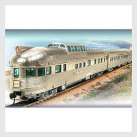 Broadway Limited Imports HO 1797 California Zephyr 11-Car Mixed Passenger Set A