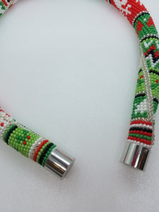 "Necklace ""Christmas ornaments"""