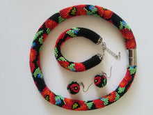 Necklace beadwork