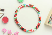 "Necklace""Flowers choker"" beadwork - Lora's Treasures"
