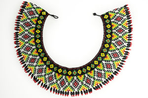 "Handmade beaded ""Collar"" necklace. By Lora's Treasures"