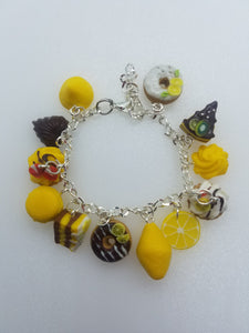 "Bracelet ""Lemon sweets"""