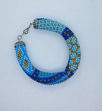 Geans Necklace  and bracelet beadwork set - Lora's Treasures