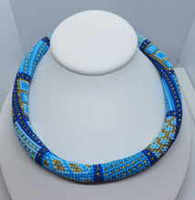 Geans Necklace  and bracelet beadwork set