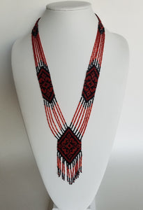 "Beaded necklace ""Gerdan S"""