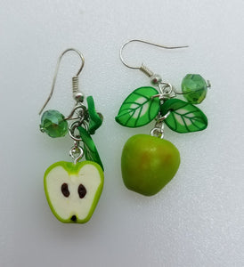 "Earrings ""Apples"" - Lora's Treasures"