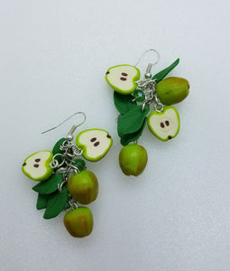 "Earrings ""Apples"""