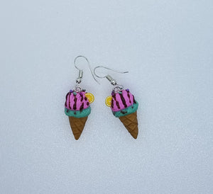 "Earrings ""Ice cream"""