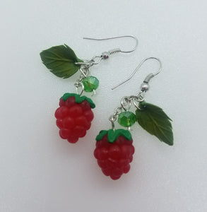 "Earring ""Raspberry"""