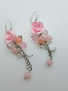 "Earrings ""Roses"" - Lora's Treasures"