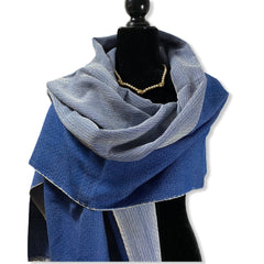 Organic Egyptian Cotton Handwoven Shawl