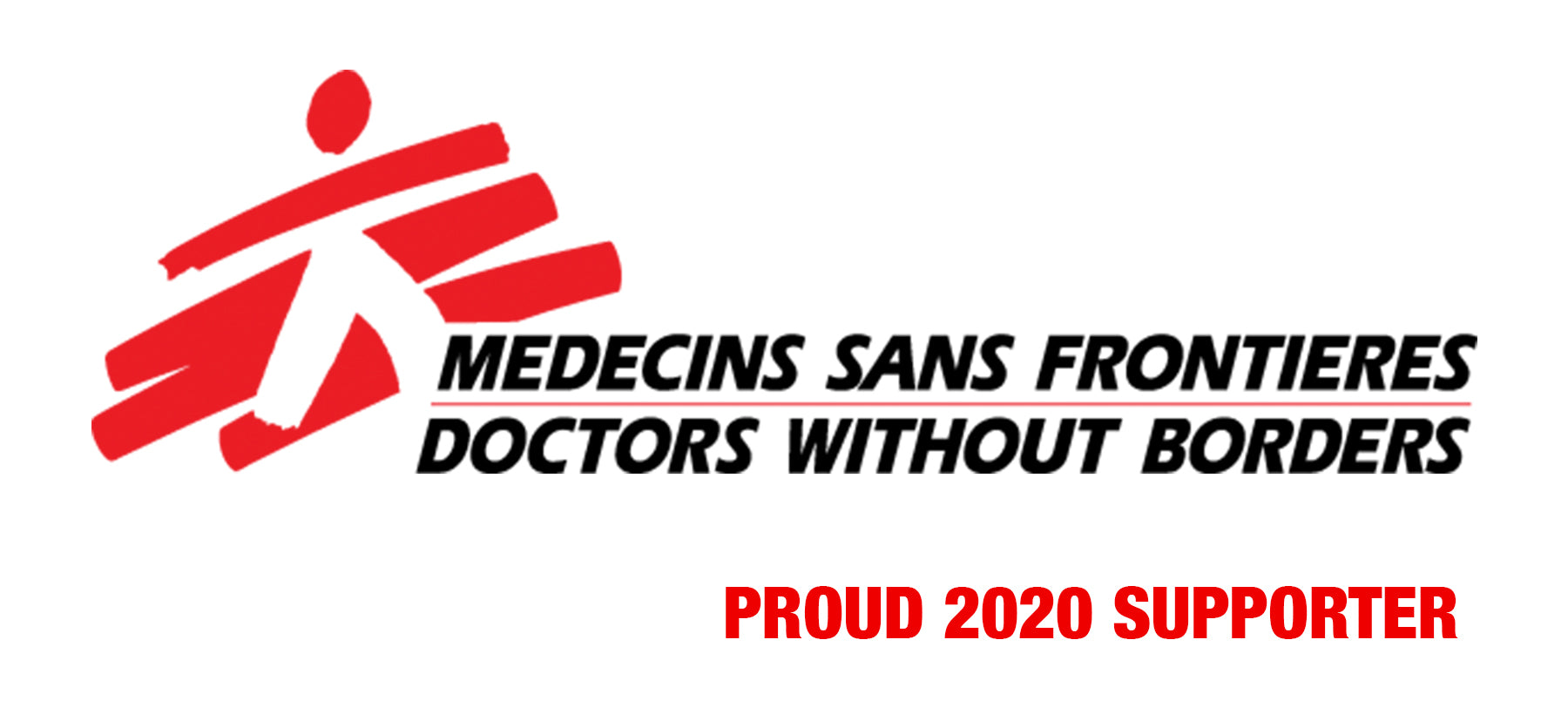 Doctors Without Borders - Proud 2020 Supporter