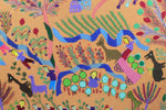 Hand Embroidered Tapestry - The Countryside by Reda Hakim