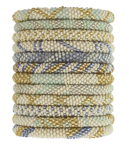 Roll-On Beaded Bracelets - Capri Coast