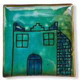 Pottery Coaster - House in the Village