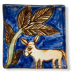 Pottery Coaster - Local Animals