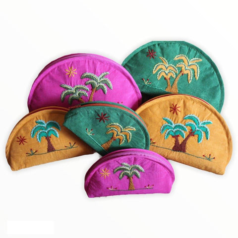 Amar Handcrafted Cosmetic Bags