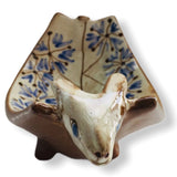 Pottery Plate - Cow Head