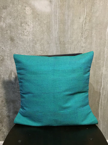 Handwoven Egyptian Cotton Cushion Cover - Solid Color