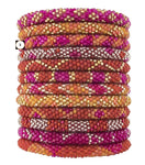 Roll-On Beaded Bracelets - Carousel