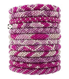 Roll-On Beaded Bracelets - Cotton Candy