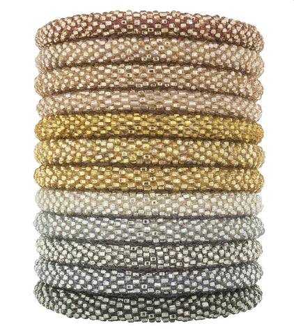 Roll-On Beaded Bracelets - Chic Happens