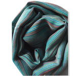 Small Striped Handwoven Scarf - Brights