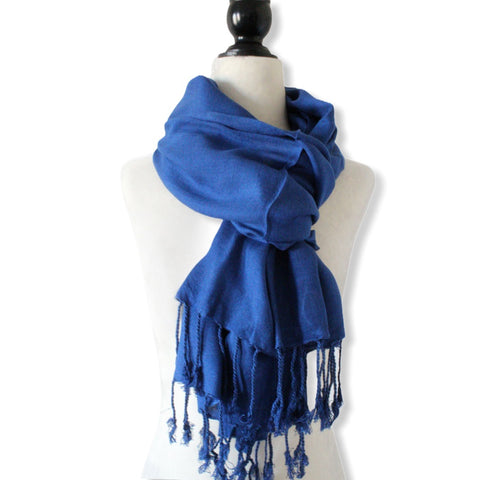 Solid Handwoven Scarf