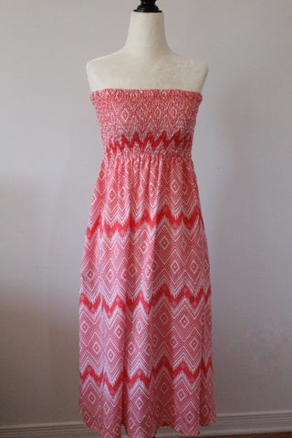 Smocked Midi Summer Dress