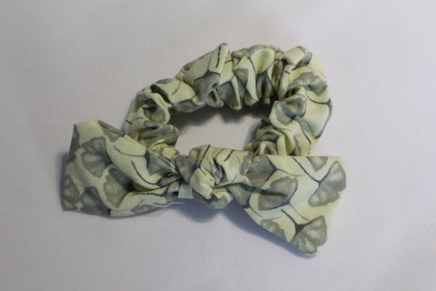 Handmade Up-cycled Scrunchies - Yellow