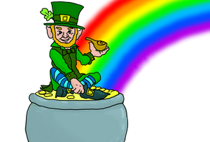 Leprechauns and Saint Patrick's Day