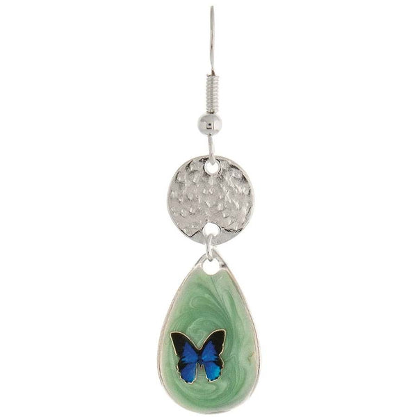 Blue Butterfly Earrings - Gifts A GoGo