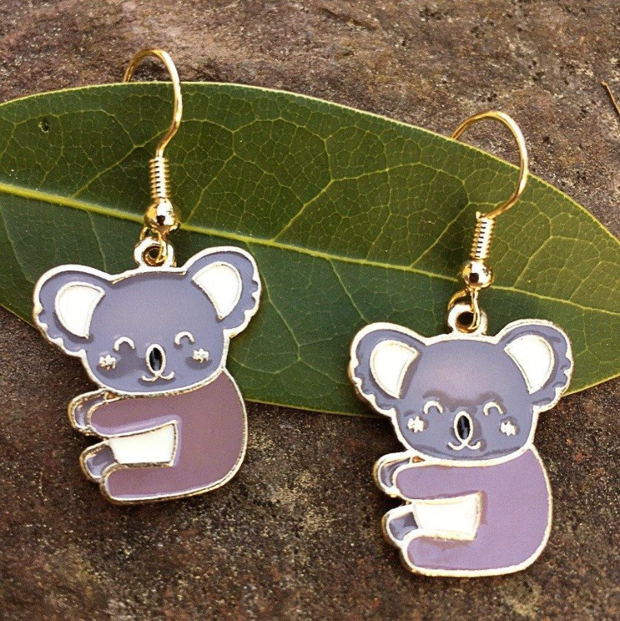 Koala Bear Earrings - Gifts A GoGo