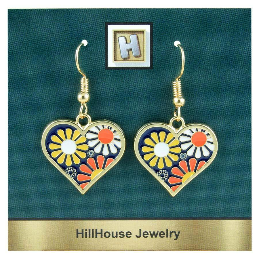 Groovy Heart Earrings - Gifts A GoGo