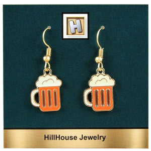 Beer Stein Earrings - Gifts A GoGo