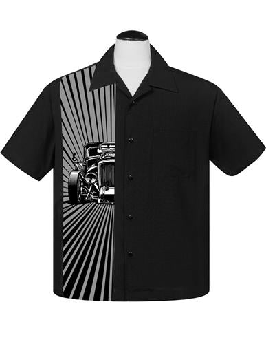 Steady ST35467 Hot Rod Burst Men's Button Shirt