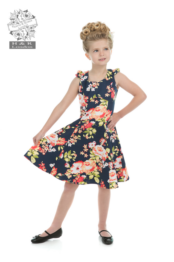 Hearts & Roses 4140 Jennifer Floral Dress