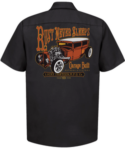 Lucky 13 LM6850RN Rust Never Sleeps Button Shirt