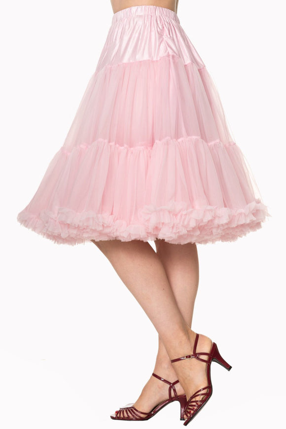 Banned SBN235 Starlite Petticoat Light Pink