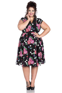 Hell Bunny 4425 Bloomsbury 50's Dress +Size